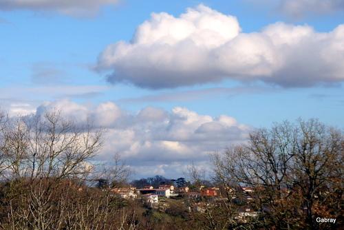Paysages de début mars en Tolosan
