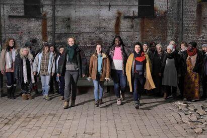 Les Invisibles : Photo Audrey Lamy, Corinne Masiero, Déborah Lukumuena, Noémie Lvovsky