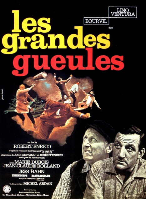 LES GRANDES GUEULES - BOURVIL BOX OFFICE 1965