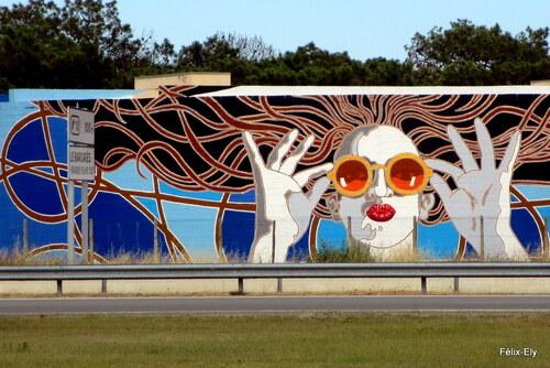 Pins et peintures murales