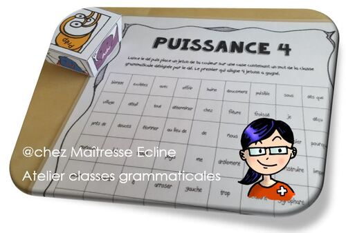 Les classes grammaticales 7e Harmos (adaptable de la 5e à la 8e)