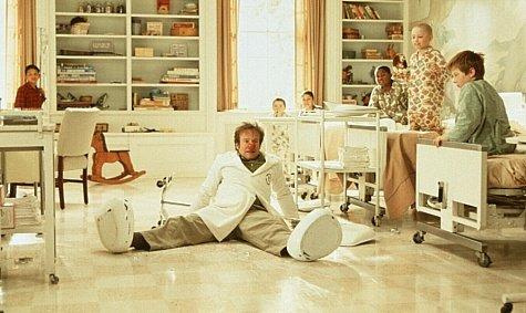 Docteur Patch (Patch Adams), Robin Williams ©