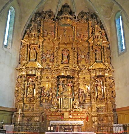 En Catalogne, les retables de l'église de Prats de Mollo