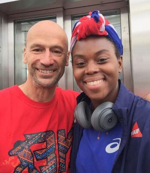 Ludivine Aubert vice-championne du monde du 400m haies.