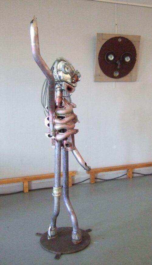 Etaples- 28ème rencontre de sculpture- C'est fini