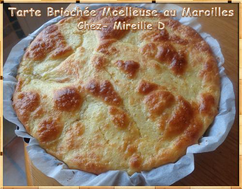 Tarte Briochée Moelleuse au Maroilles