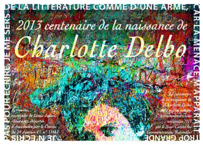 Née le 10 Aout 1913 à Vigneux sur Seine, Charlotte Delbo