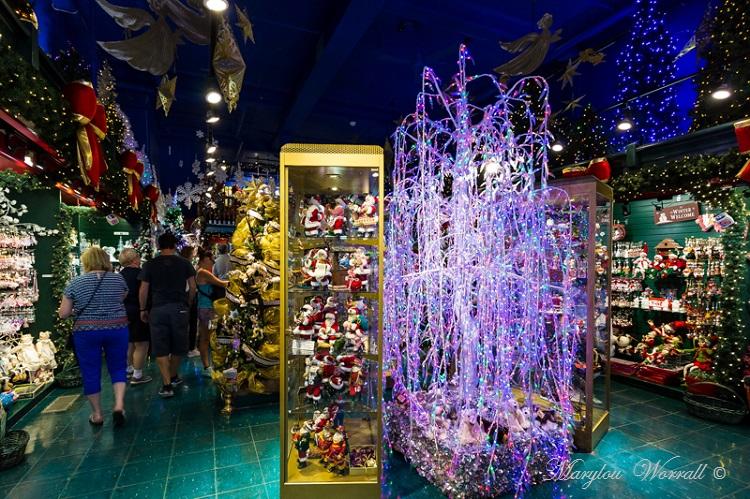 Québec ville : La boutique de Noël
