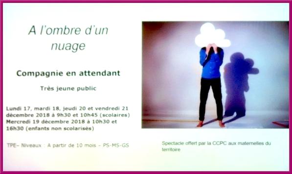 Présentation de la saison 2018-2019 jeune public, au théâtre Gaston Bernard de Châtillon sur Seine