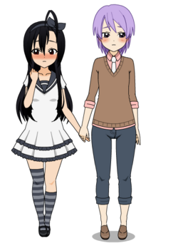 [Chiyoko & Jack] ♥