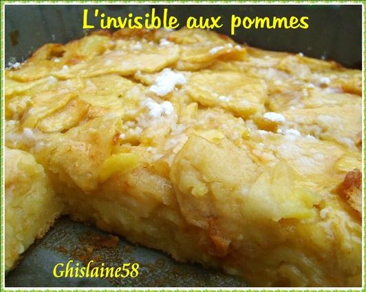 L'invisible aux pommes