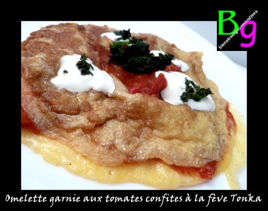 Omelette tomate tonka
