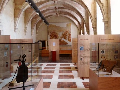 L'abbaye de Saint Savin sur Gartempe (photosà