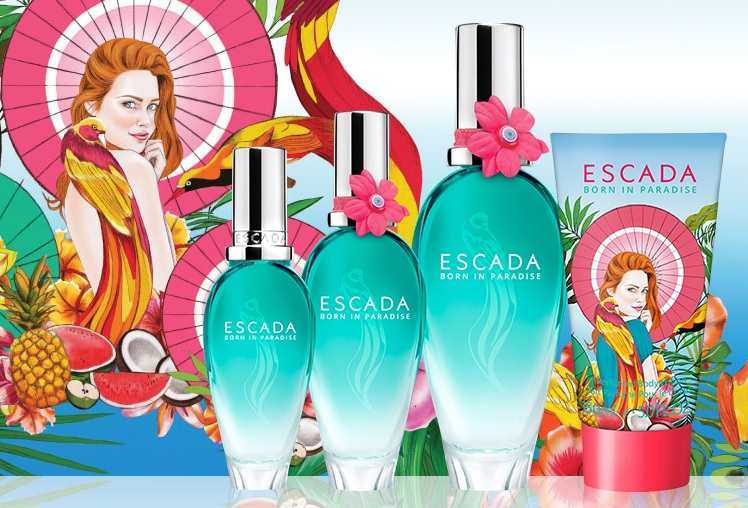 Escada - Born In Paradise