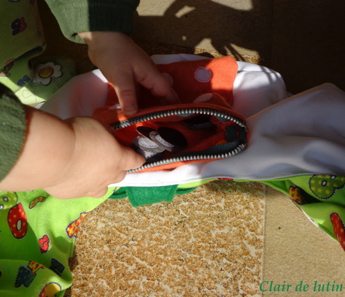 Quiet Bag {Défi de la st Patick}