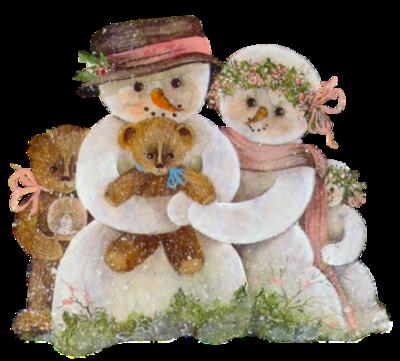 Noel : bonhommes de neige  (5)