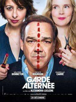 Garde alterné (Film, 2018, toujours à l'affiche actuellement).