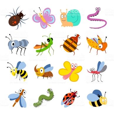 """Résultat de recherche d'images pour """"insectes dessin"""""""
