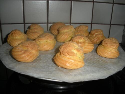 choux croustillants