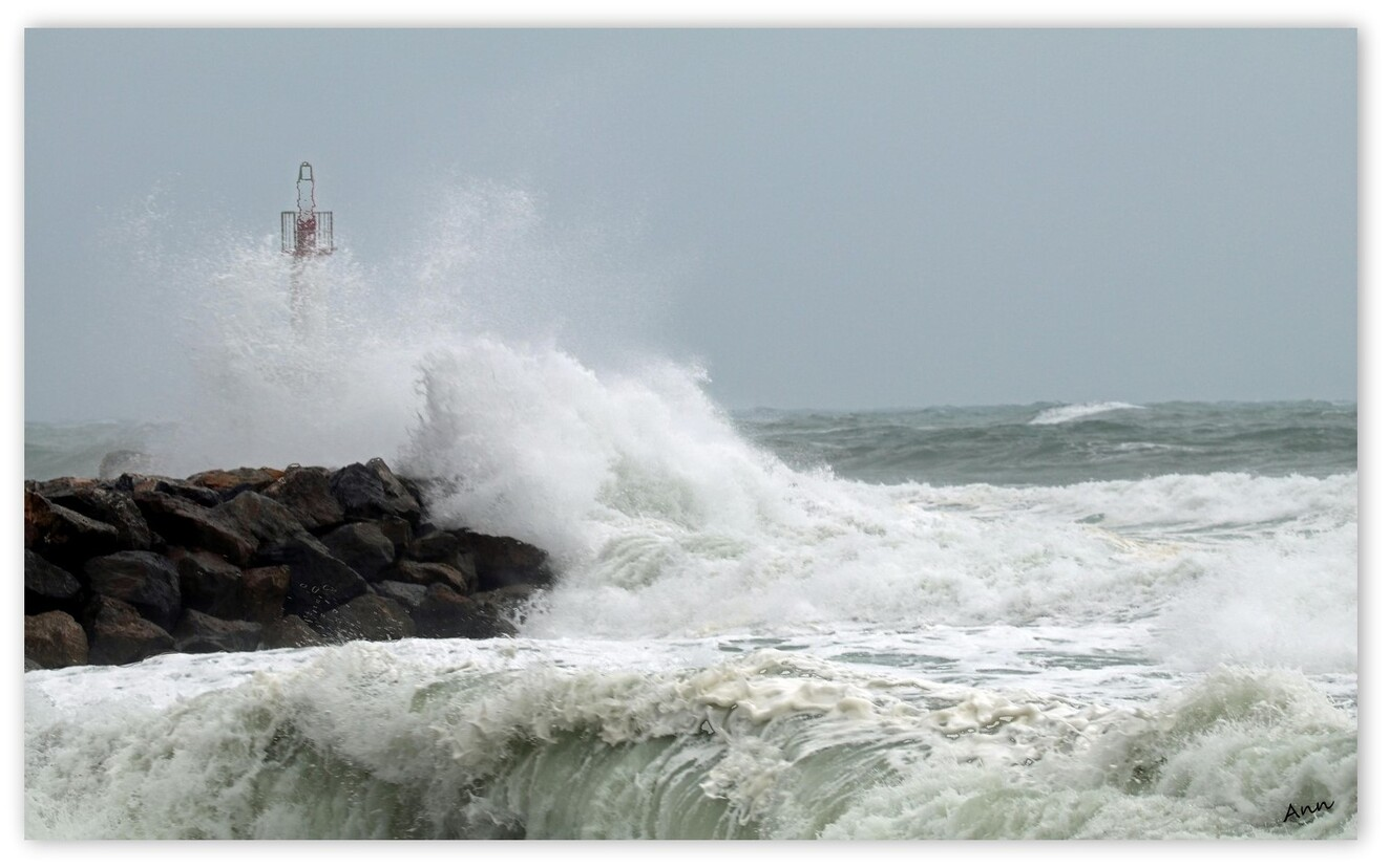 Jour de tempête (1)  Le Barcares
