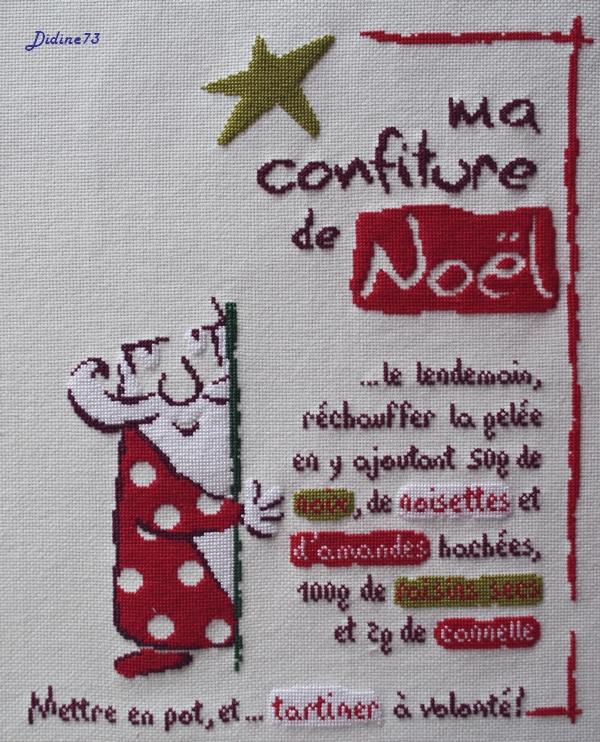 """Sal """"Ma confiture de Noël"""" - étape 5"""
