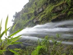 La plus grande cascade de Colombie : 590 m !!