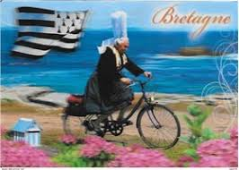 Cartes Postales Anciennes Bretagne Vélo | 20 CPA rares à vendre