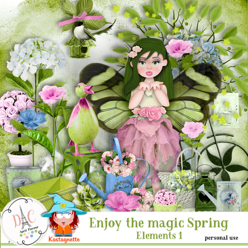 Enjoy the magic spring