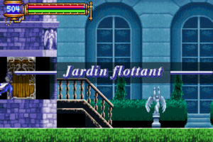 Castlevania Aria Of Sorrow #5 Jardin Flottant