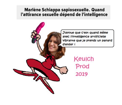 SI TU VEUX BAISER MARLÈNE, PASSE TON BAC D'ABORD !