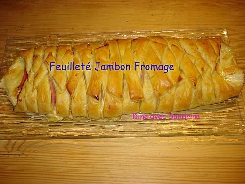 Feuilleté Jambon Fromage 9
