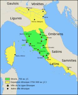 Le royaume d'Etrurie