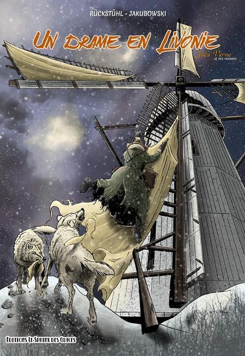 """Réservation du tome 5: """"Un drame en Livonie"""", d'après Jules Verne."""