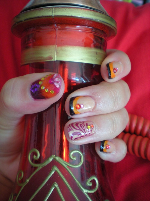 GA nail art chez Cilou