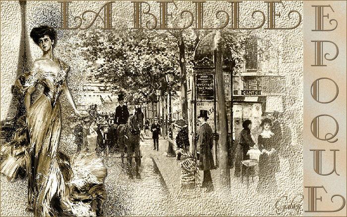 L'histoire De La Belle Époque -  Souvenirs & Nostalgie !