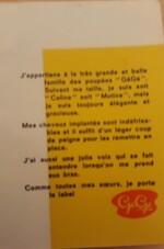 Série Caline, Mutine, Mimi, Chouky et Zouzou
