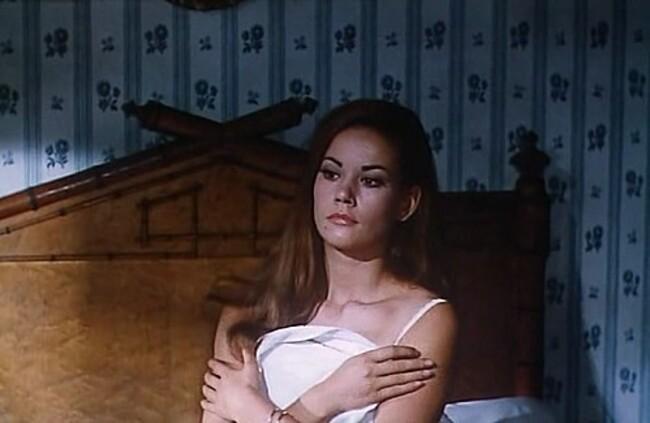 ROMY SCHNEIDER - YUL BRYNNER - TRIPLE CROSS - 1966