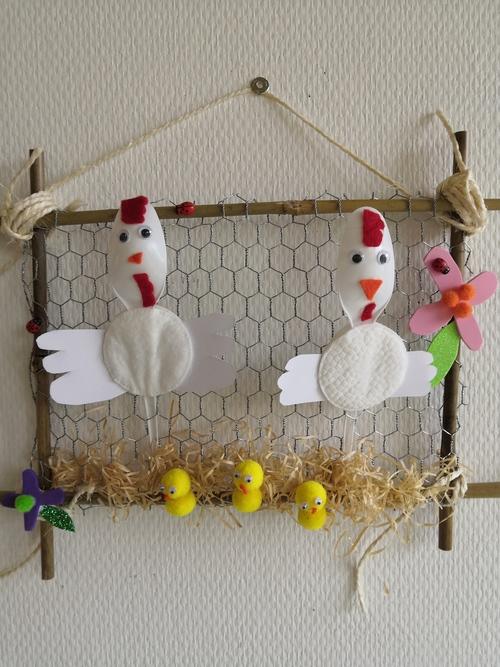 Le poulailler de Pâques