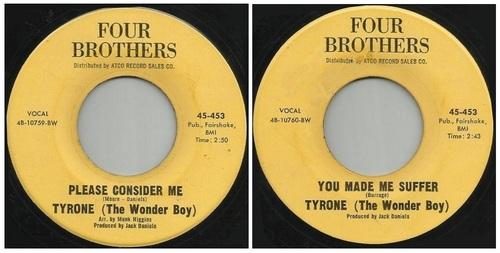 TYRONE 'WONDER BOY'