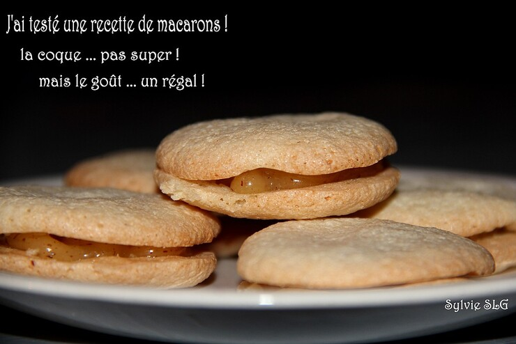 J'ai testé les macarons