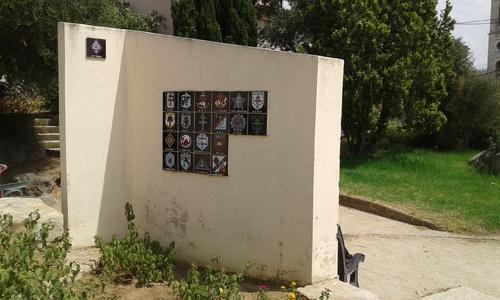 * Le mémorial de la 1ère DFL à l'Ile Rousse (Haute Corse)