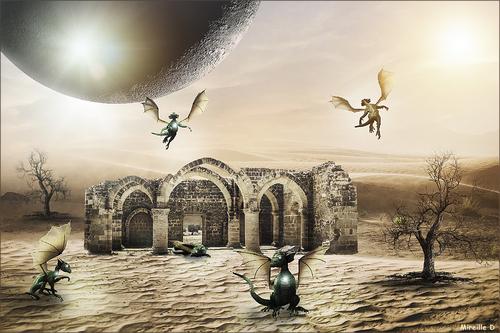 Refuge de Dragons (Photomontage)