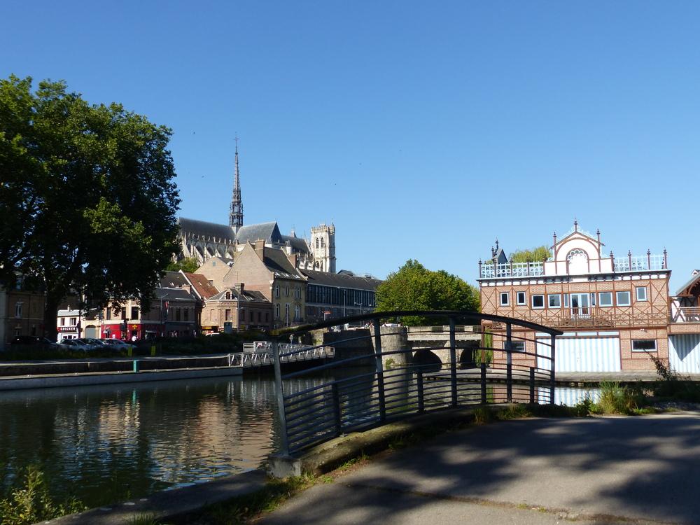 Amiens au mois d'août