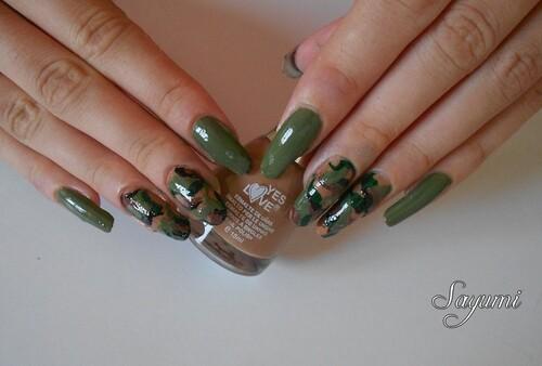 Army Nail Art, le retour !