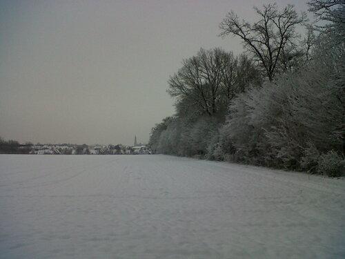 Je suis bloquée par la neige