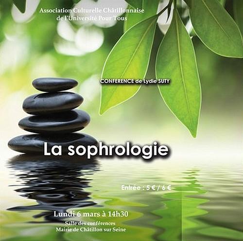 Une conférence de Lydie Suty sur la sophrologie, proposée par l'association Culturelle Châtillonnaise