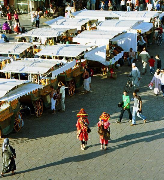 Place Jemma El Fna (Marrakech)
