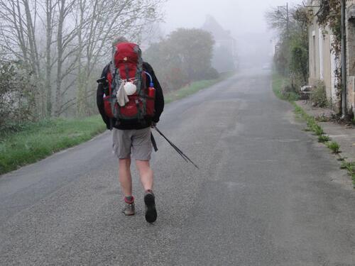 En route pour Cabreret.