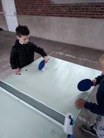 "Intervention "" tennis de table"""