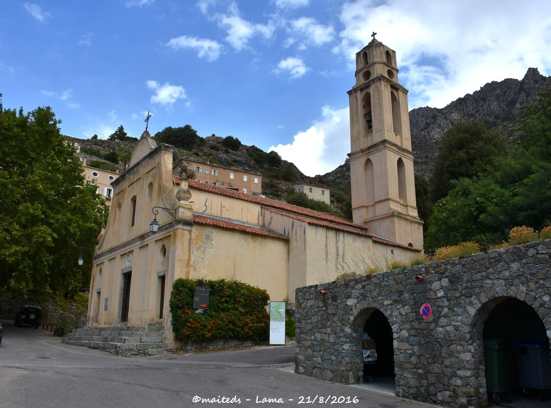 Eglise Saint-Laurent - Lama - Corse